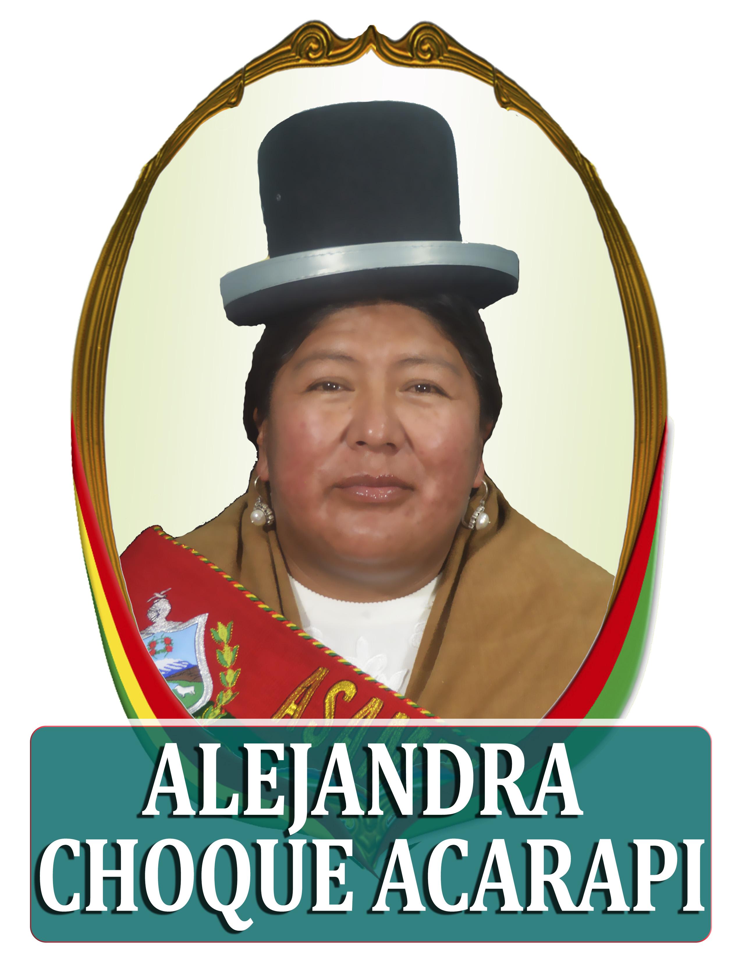 ALEJANDRA CHOQUE ACARAPI