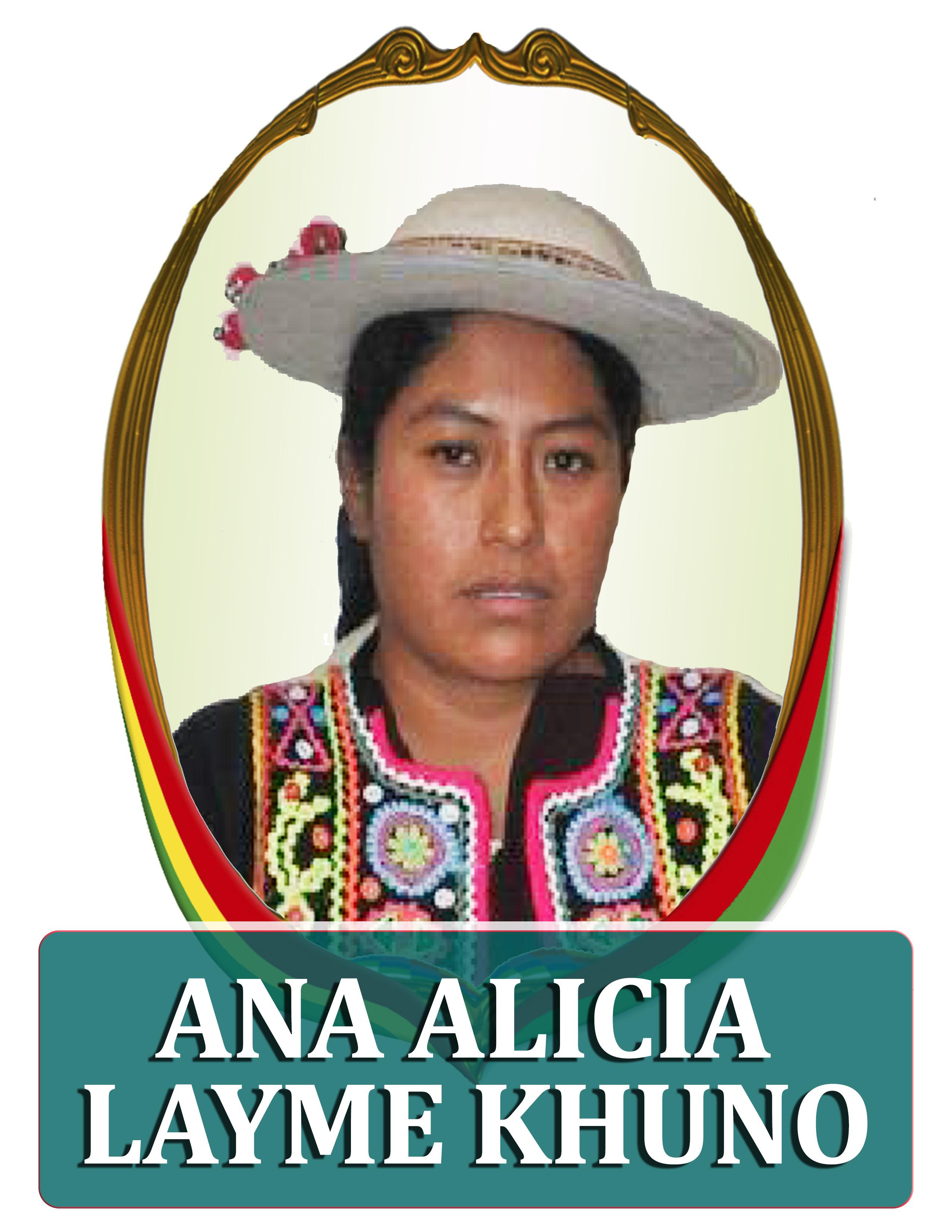 ANA ALICIA LAYME KUNO