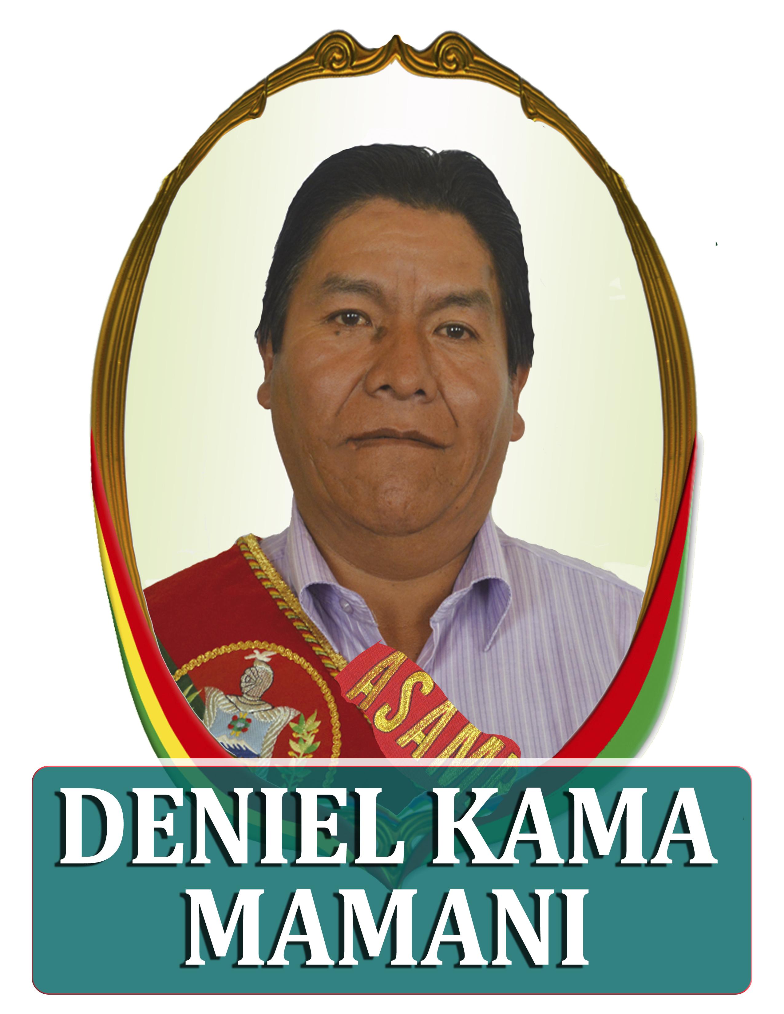DANIEL KAMA MAMANI