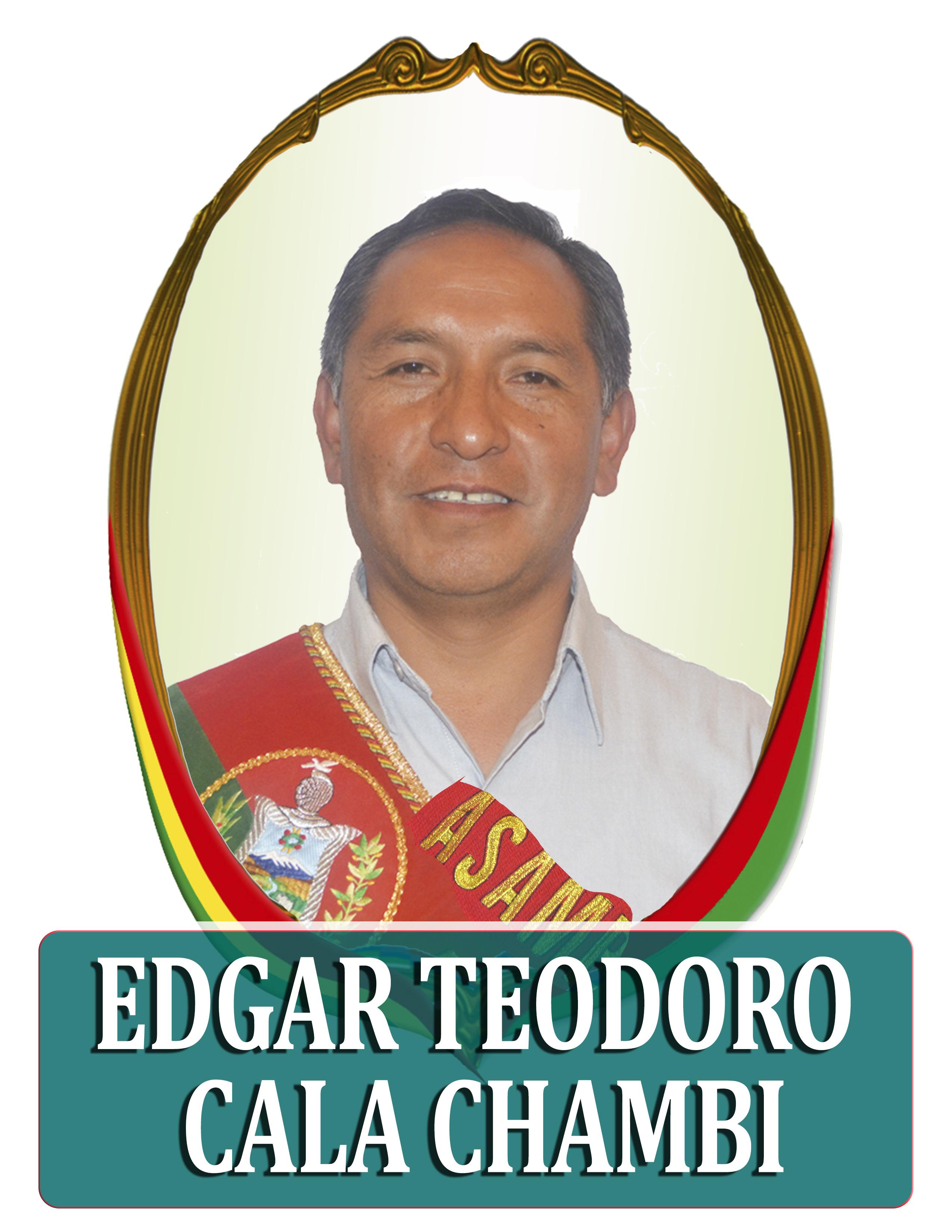 EDGAR TEODORO CALA CHAMBI