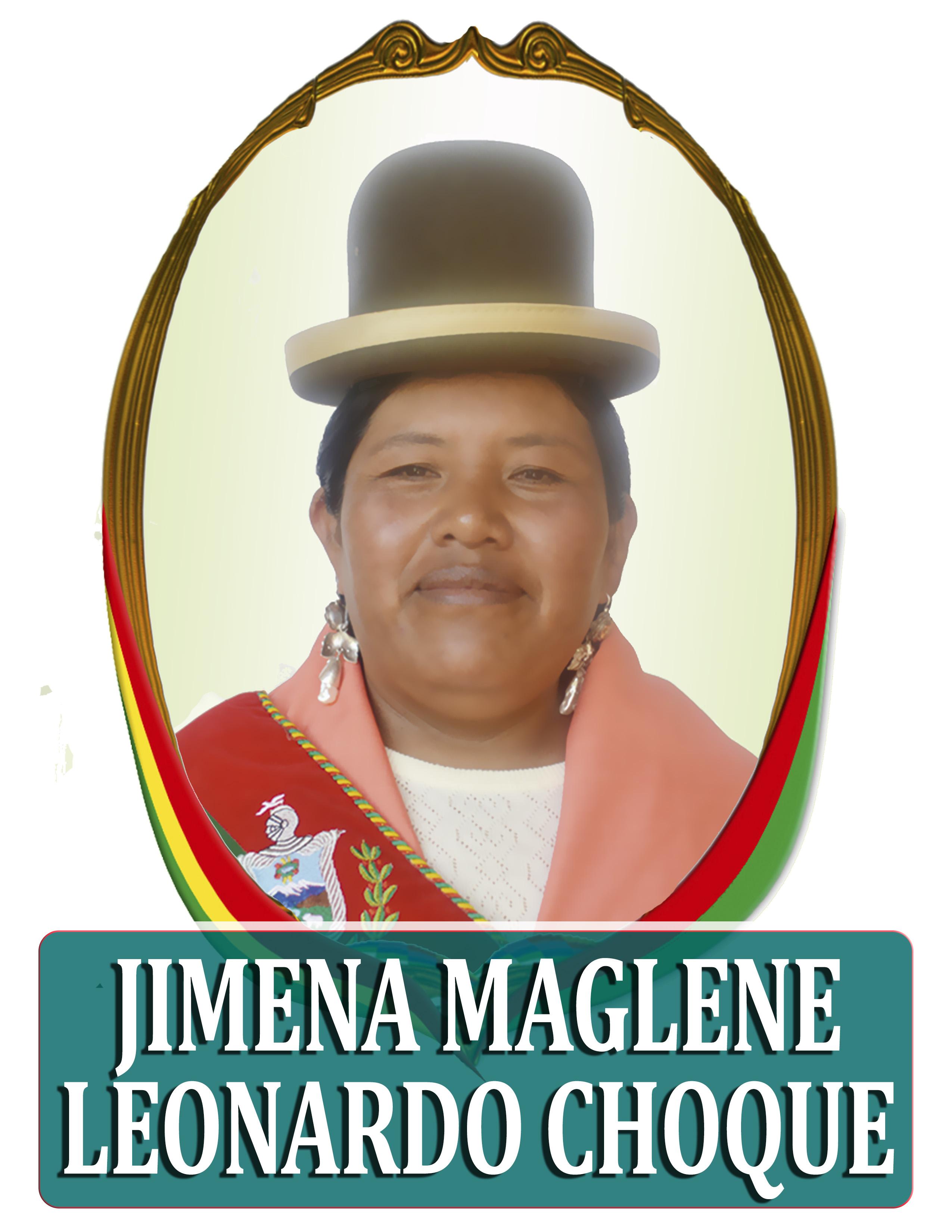 JIMENA MAGLENE LEONARDO CHOQUE