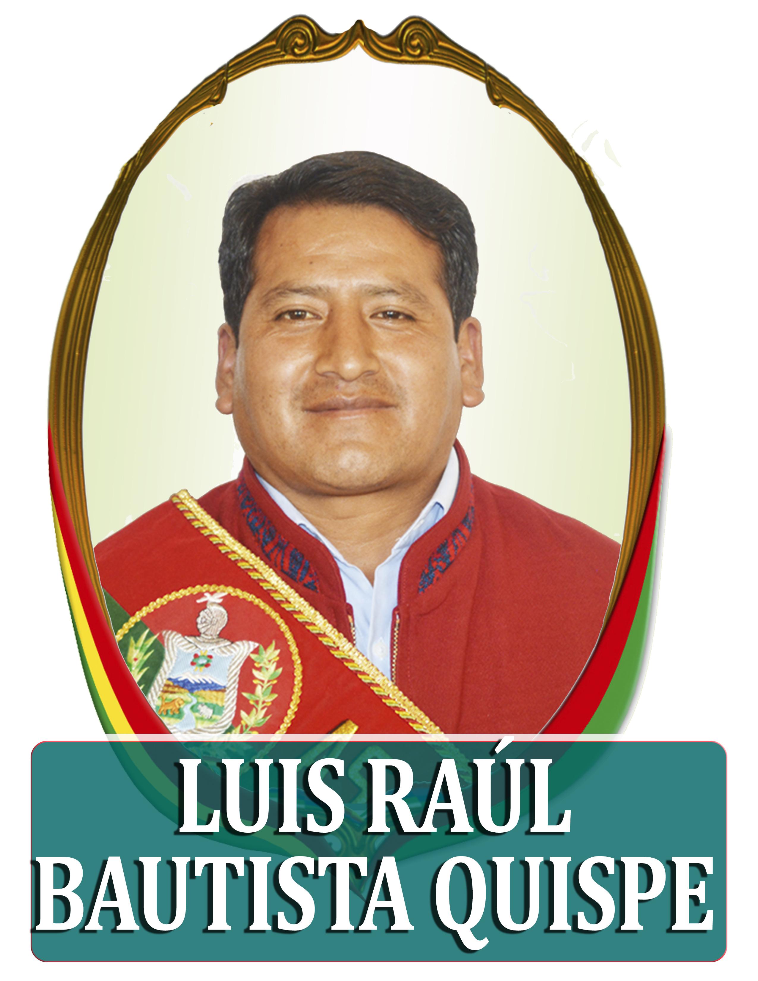 LUIS RAUL BAUTISTA QUISPE
