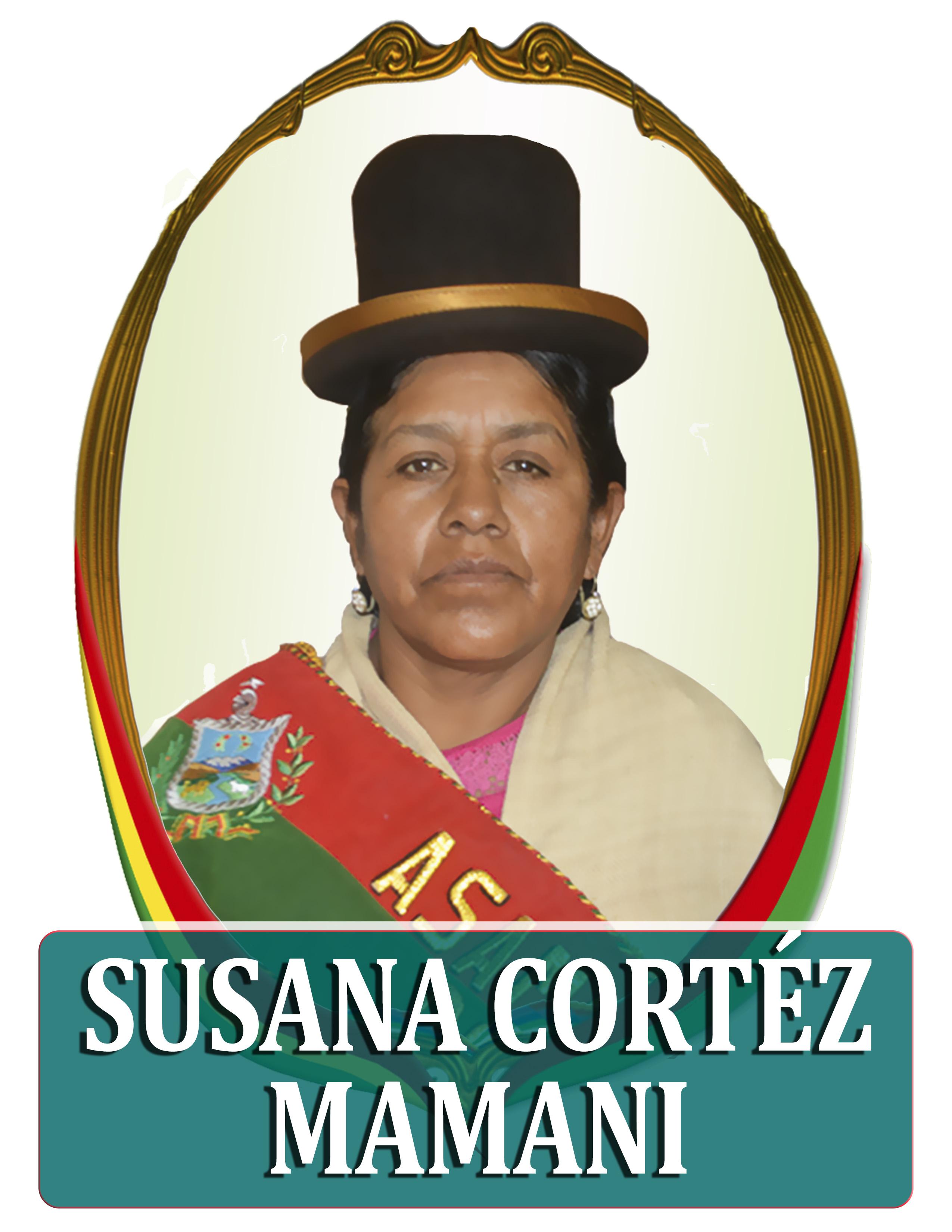 SUSANA CORTÉZ MAMANI
