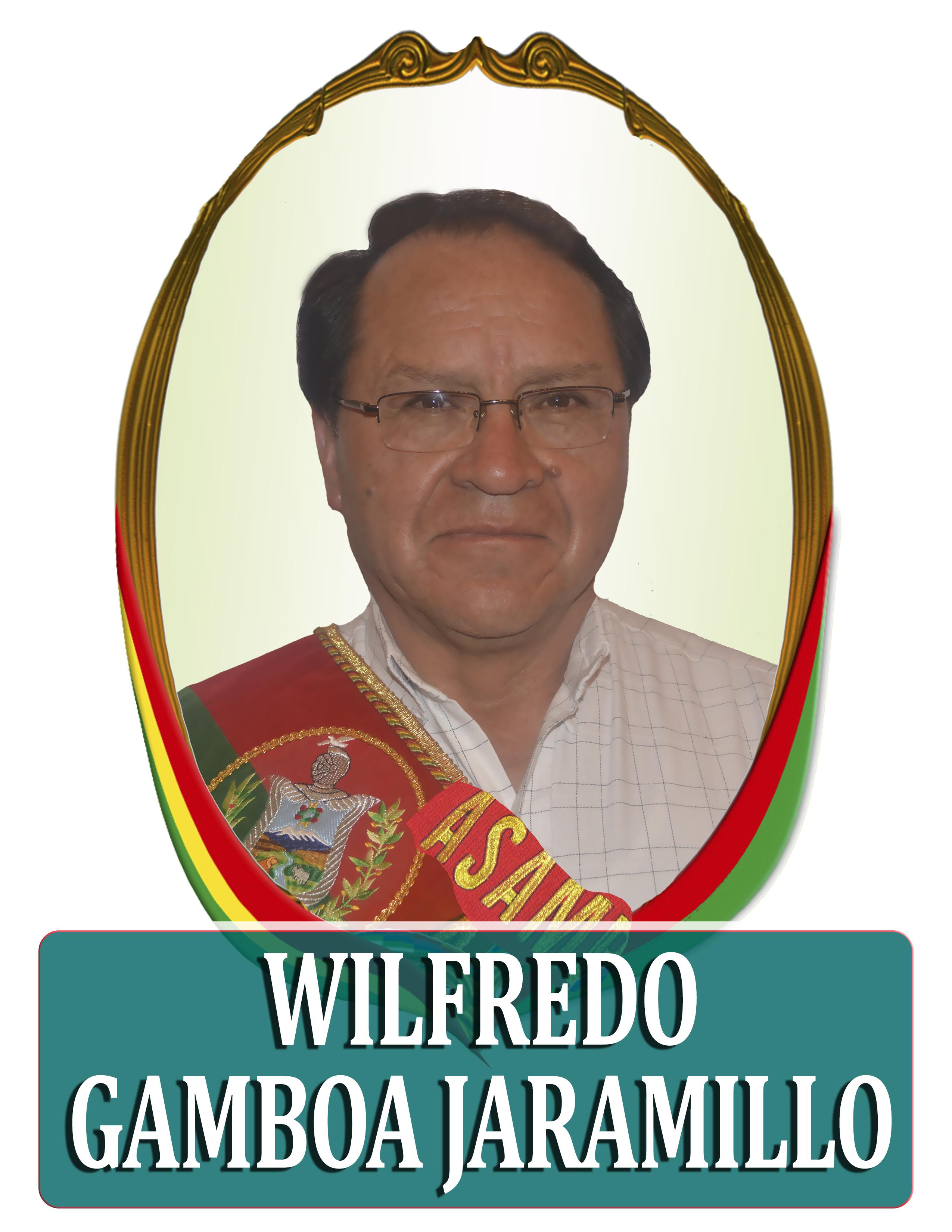 WILFREDO GAMBOA JARAMILLO